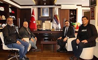 Rektör Kalan'dan Başkan Şahin'e ziyaret