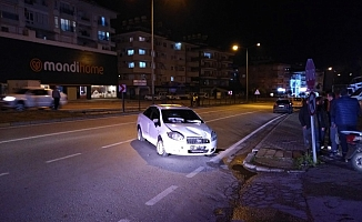 Alanya'da kaza yapan sürücü aracını bırakıp kaçtı!