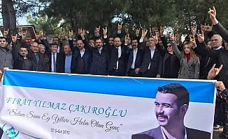 Antalya'da Fırat Yılmaz Çakıroğlu anıldı