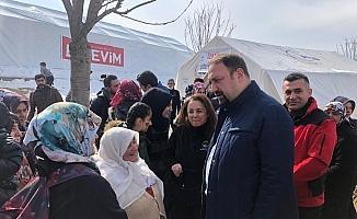 Başkan Gümrükçü, ikinci kez Elazığ'da