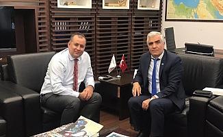 DATÜB'den İstanbul İl Göç İdaresi Müdürü Batu'ya ziyaret