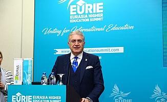 """EURAS ve EURIE Genel Başkanı Aydın: """"Küresel akademi camiasında iş birliği şart"""""""