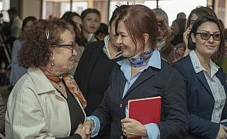 'Kadın ve aile hizmetlerine gönüllü katılım' için toplandılar