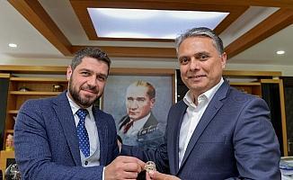 Konsolos Khomenko'dan ziyaret