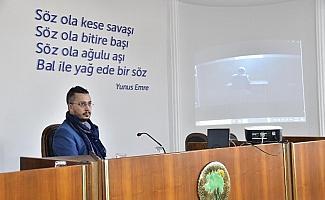 Mamak'ta konferans serisi devam ediyor