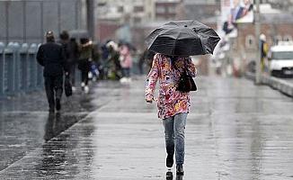 Meteoroloji sağanak yağışın kuvvetli olacağı illeri uyardı