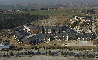 PAÜ Fizik Tedavi Rehabilitasyon Hastanesi inşaatında sona yaklaşıldı