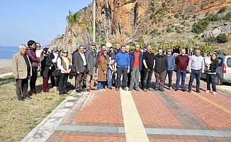 Sahilleri turizme açılacak Gazipaşa'da imar planına itiraz platformu kuruldu