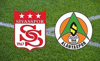 Sivasspor-Alanyaspor maçı CANLI ANLATIM