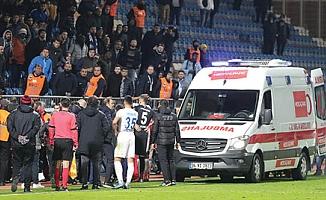 Süper Lig maçında büyük şok! Kalp krizi geçirip hayatını kaybetti