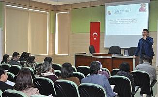 Tarsus Belediyesi personeline 'Öfke Kontrolü ve İş Hayatında İletişim' eğitimi verildi
