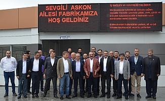 ASKON Mersin Şubesinden 50 bin maske desteği