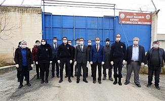 Bayburt M Tipi Kapalı Ceza infaz Kurumu'nda Kovid-19 tedbirleri
