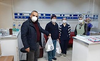 Sağlık-Sen Giresun Şubesi'nden sağlık çalışanlarına destek ziyareti
