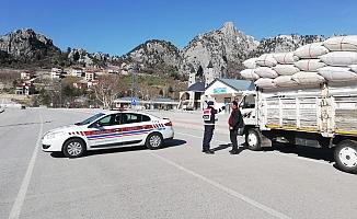 Şehir dışından Alanya'ya giriş yok! Jandarma kontrolleri arttırdı