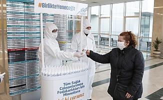 Sultangazi Belediyesi'nden sağlık çalışanlarına destek