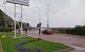 Zonguldak kurallara uydu, evde kaldı