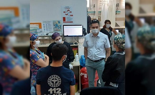 Didim Devlet Hastanesi yöneticilerinden bayram ziyareti