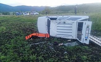 Simav'da trafik kazası: 1 ölü, 1 yaralı