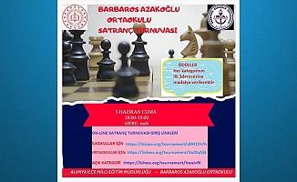 Alanya'da online satranç turnuvası başlıyor