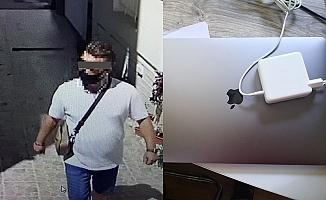 Alanya'da 30 bin TL değerindeki laptopu çalan şüpheli yakalandı!