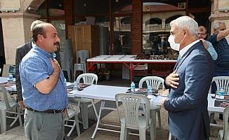 Başkan Güder'den Şire Pazarı esnafına sokak müjdesi