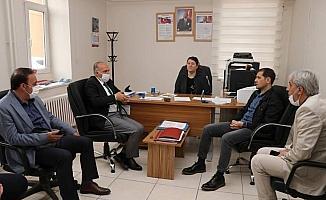 Kaymakam Erat'tan, Erzen Hatun Kız Anadolu İmam Hatip Lisesine ziyaret