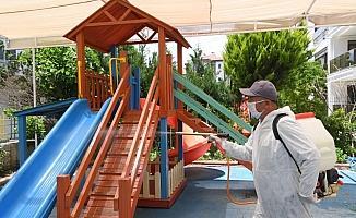 Konyaaltı Belediyesi Kreşi öğretmenleri izole sürecinde