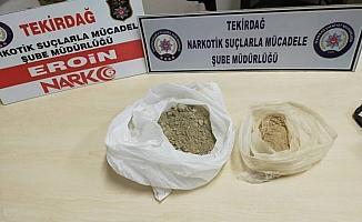 Uyuşturucu getirenleri şehrin girişinde yakaladılar
