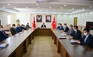 Vali Mustafa Masatlı Başkanlığında, Haziran ayı Kaymakamlar toplantısı yapıldı