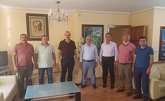 Yenialp ve Uzunsakal'danBaşkan Yiğit'e ziyaret