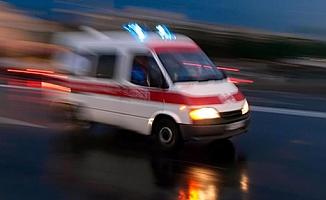 Alanya'da elektrikli bisikletle otomobil çarpıştı: 3 yaralı