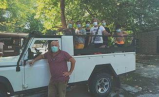 Alanya'da safari turları 'tedbirli' başladı