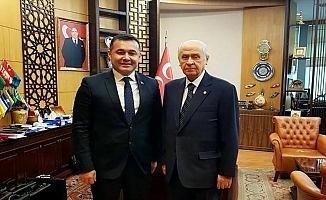 Başkan Yücel, MHP Lideri Bahçeli ile buluştu