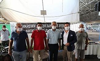 Bodrum'da üretici pazarı açıldı
