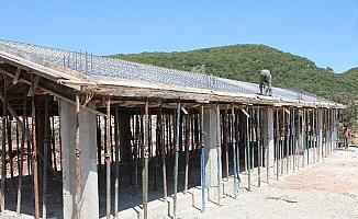 Kaş'ta eski okul binaları hayat buluyor