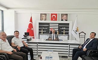Ticaret Borsası'ndan AK Parti'ye ziyaret