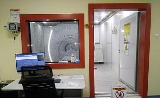 İş insanın bağışladığı MR cihazı hizmete girdi