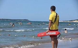 Kandıra sahillerinde hafta sonu 218 kişi boğulmaktan kurtarıldı