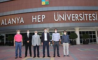 Kaymakam Ürkmezer'den AHEP'e ziyaret