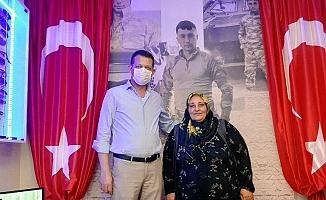 Kaymakam Ürkmezer'den şehit ailelerine ziyaret