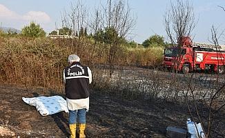 Köyceğiz'de alevlerin arasında kalan yaşlı adam hayatını kaybetti