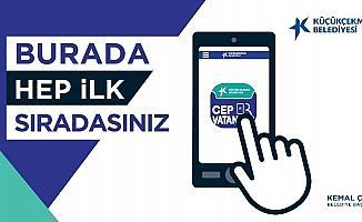 Küçükçekmece Belediyesi 'Cep Vatandaş' uygulaması yayında