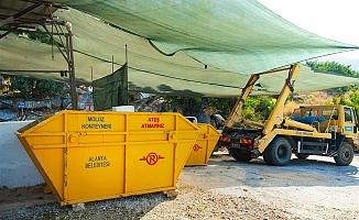 Kurban Bayramı'nda Alanya'dan 3 bin 528 ton çöp çıktı