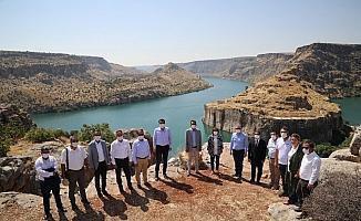 Rumkale'ye Türkiye'nin en büyük cam terası yapılacak