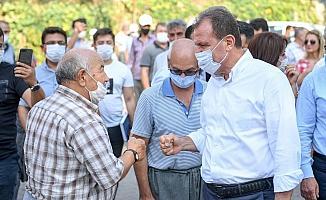 Başkan Seçer, kırsal mahalleleri ziyaret etti