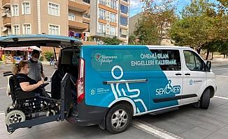 Engelleri ortadan kaldıran taksi hizmeti