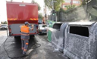 Eyüpsultan Mahallelerinde 'Temizlik ve Dezenfeksiyon' çalışması