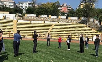 Futbol maçları için polisten güvenliklere eğitim