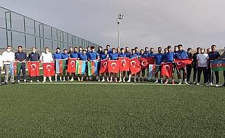 Kırıkkale BA'dan Azerbaycan'a bayraklı destek